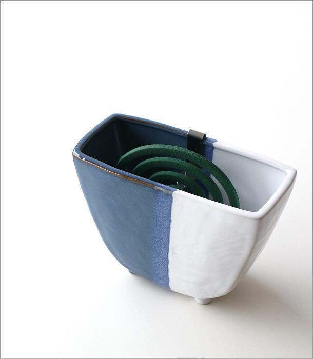 陶器の蚊遣リ ブルー(1)