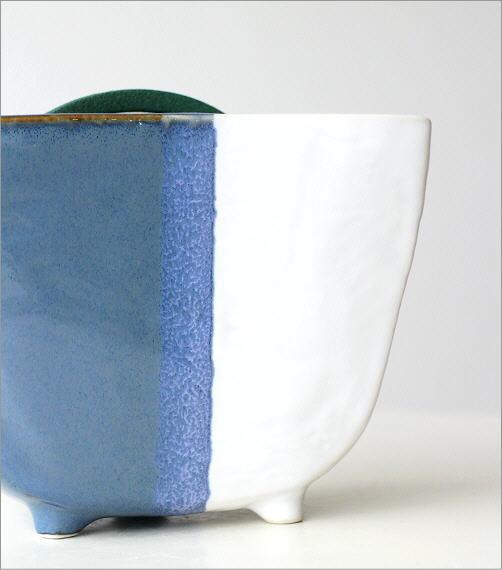 陶器の蚊遣リ ブルー(2)