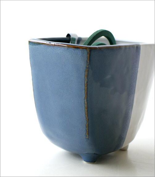 陶器の蚊遣リ ブルー(3)