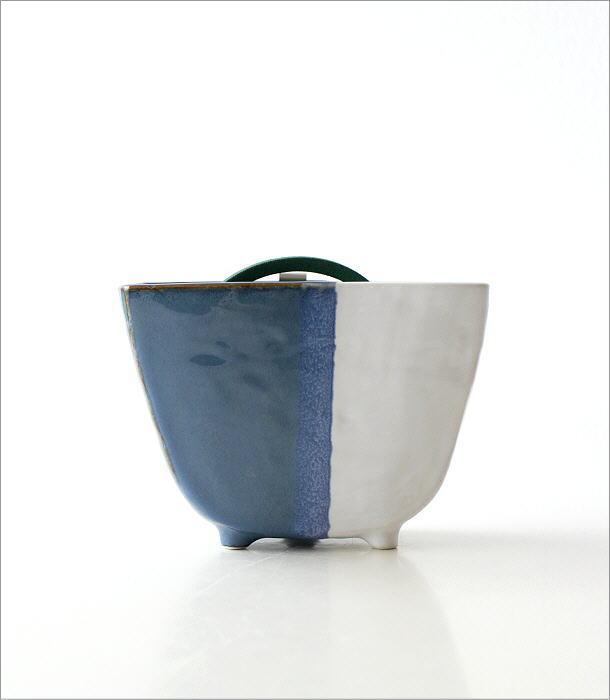 陶器の蚊遣リ ブルー(6)