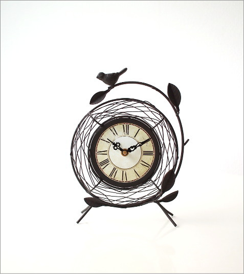 アンティークな置時計Bです