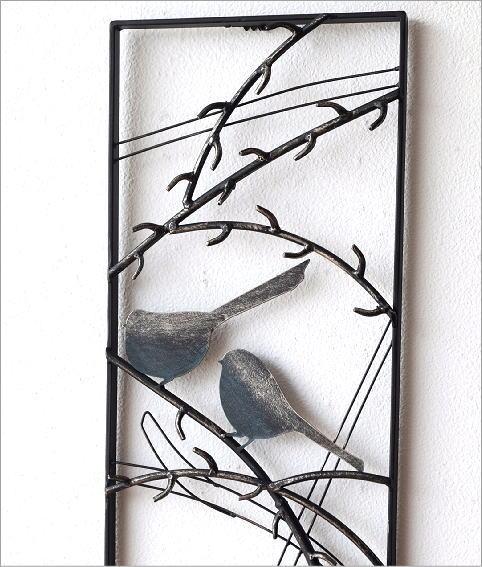 アイアンの壁飾り スリーバード(2)