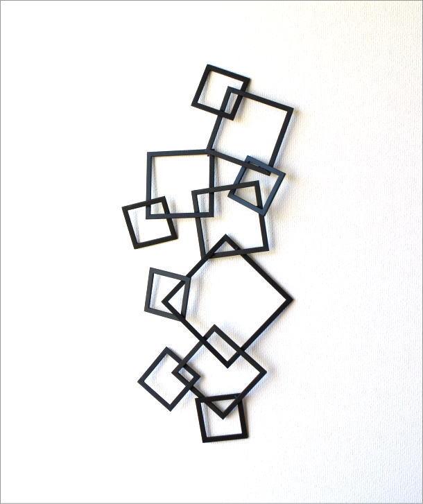 アイアンの壁飾り プラッツアート(3)