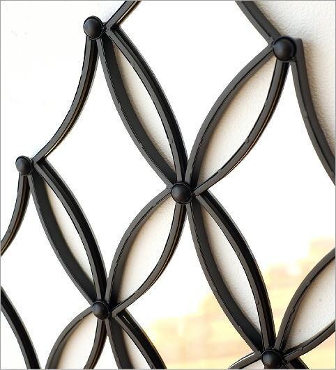 ウォールデザインミラーの壁飾り(2)