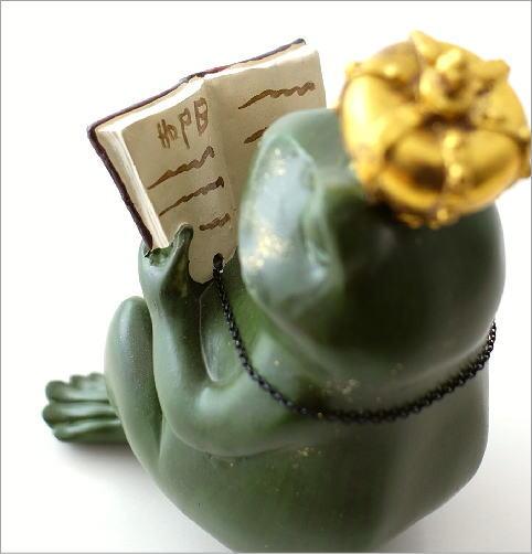 カエル王子の置物(2)