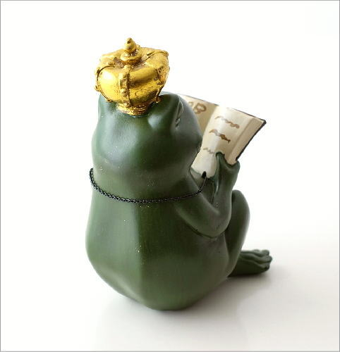 カエル王子の置物(3)