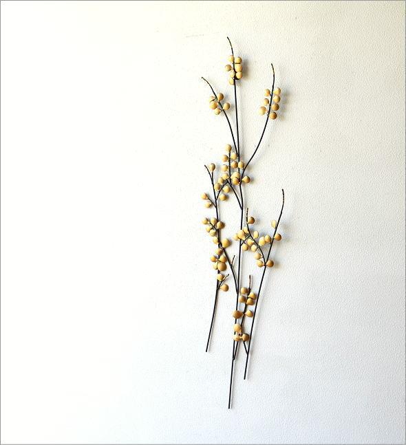 アイアンの壁飾り ゴールドリーフ(1)