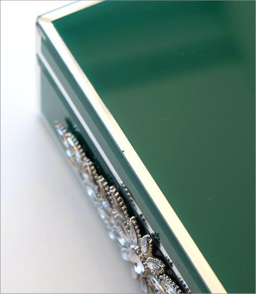 ビジュー付きガラスBOX(2)