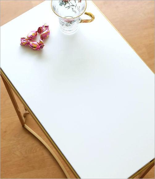 ゴールドアイアンのサイドテーブル(2)