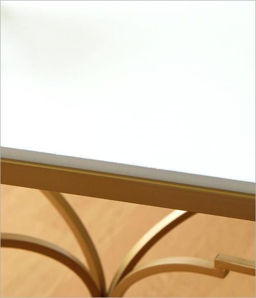 ゴールドアイアンのサイドテーブル(3)