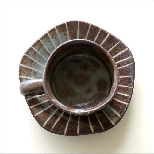 鼠志野珈琲碗皿(3)
