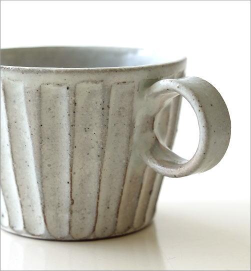 粉引き細削ぎ碗皿(2)