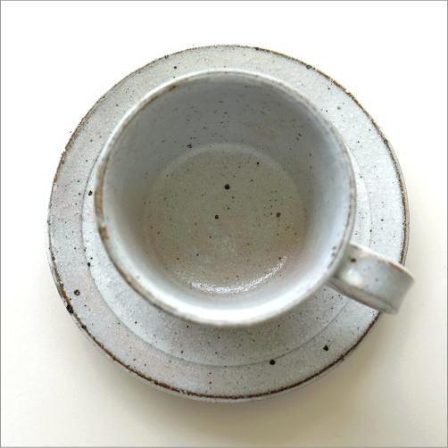 粉引き細削ぎ碗皿(3)