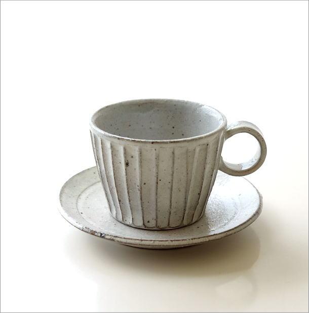 粉引き細削ぎ碗皿(5)