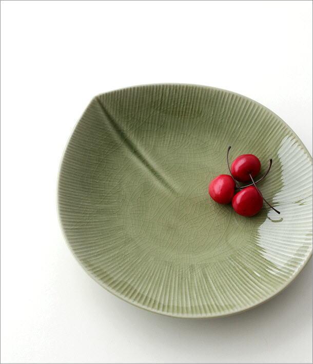リーフパスタ皿(1)