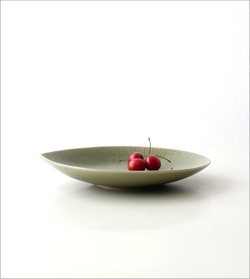リーフパスタ皿(3)