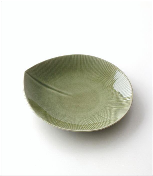 リーフパスタ皿(4)