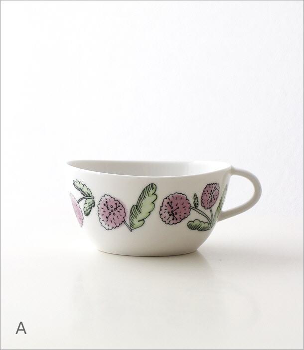 フラワースープカップ 2カラー(5)