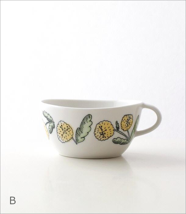 フラワースープカップ 2カラー(6)