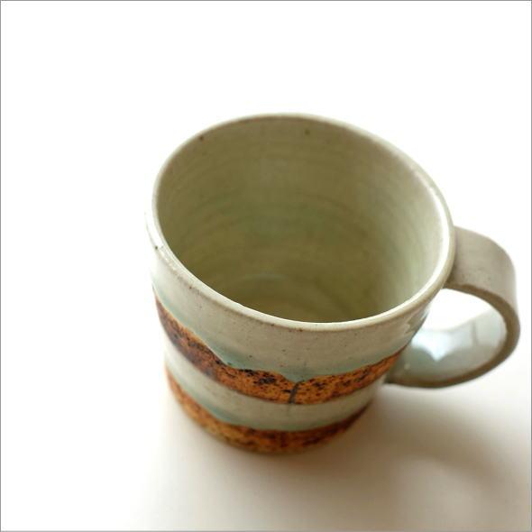青磁コーヒーマグカップ