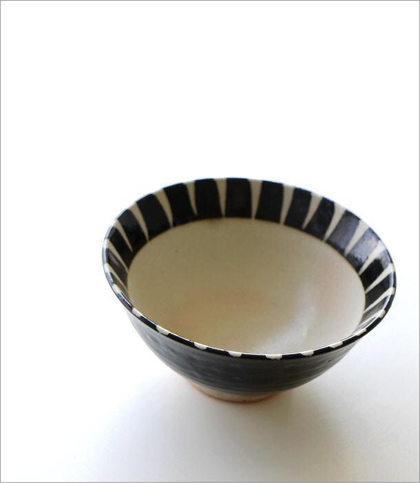 黒化粧十草 ごはん茶碗(1)