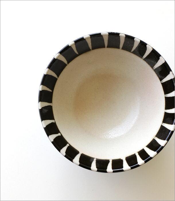 黒化粧十草 ごはん茶碗(2)