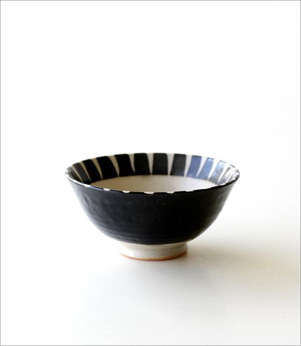 黒化粧十草 ごはん茶碗(3)