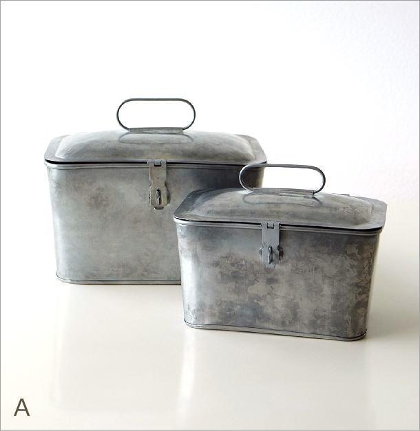 ブリキのツールBOX 2タイプ(5)