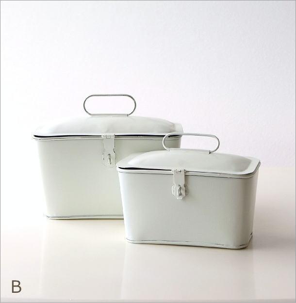 ブリキのツールBOX 2タイプ(6)