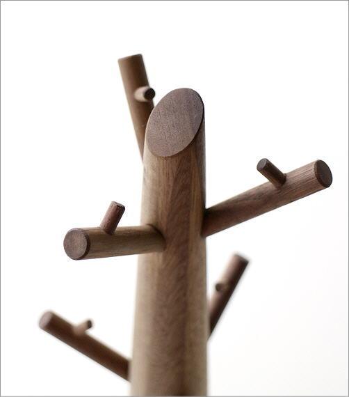 アクセサリーツリー ウォルナット(2)