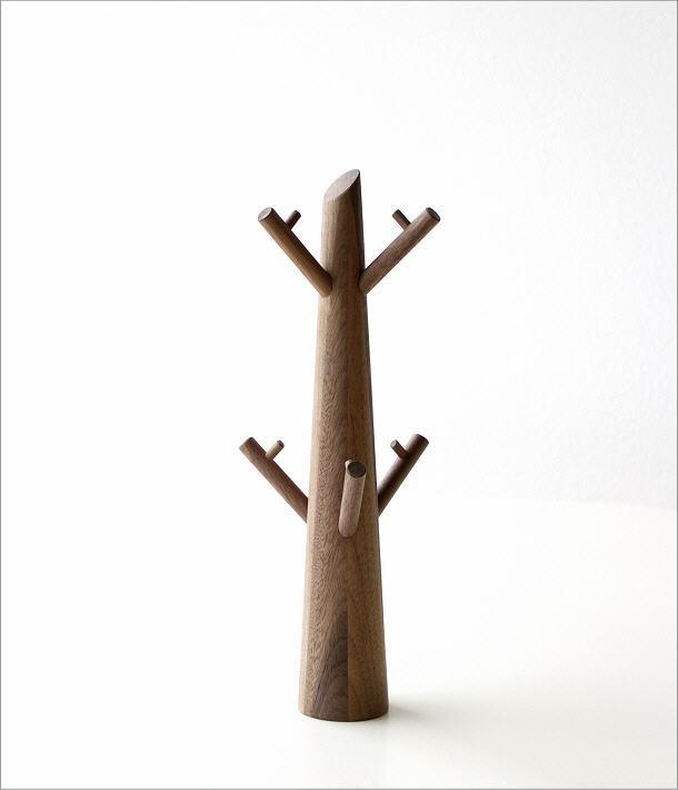 アクセサリーツリー ウォルナット(5)