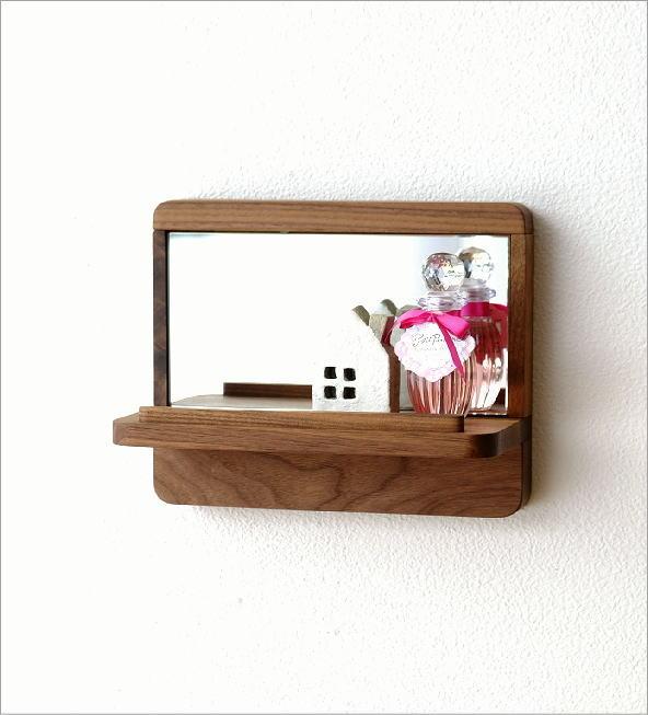 飾り棚カガミS ウォルナット(1)