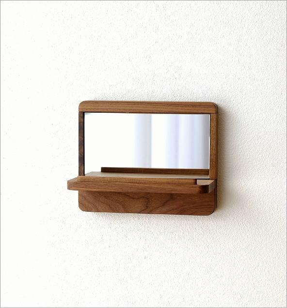 飾り棚カガミS ウォルナット(4)