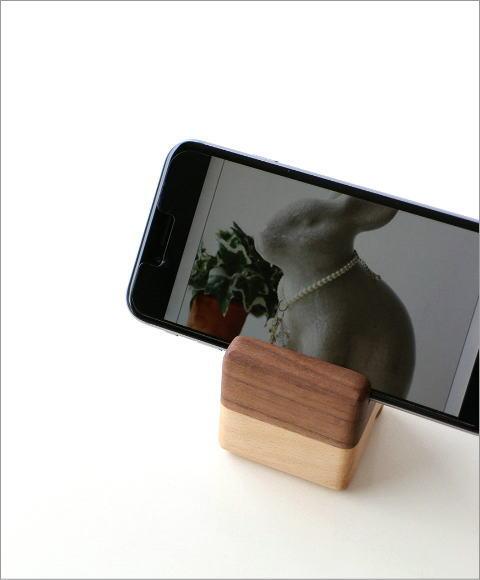 ブロック携帯スタンド(1)