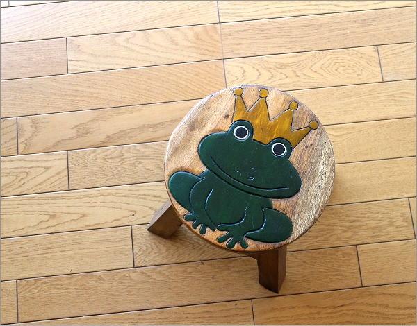 スツール 子供椅子 カエルさん(2)