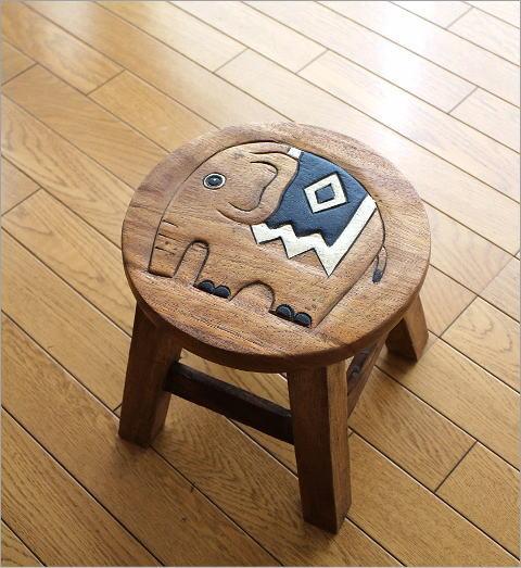 子供椅子 象さん(5)