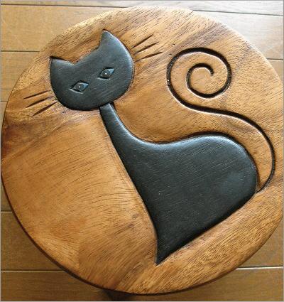 子供椅子 ネコさん(2)