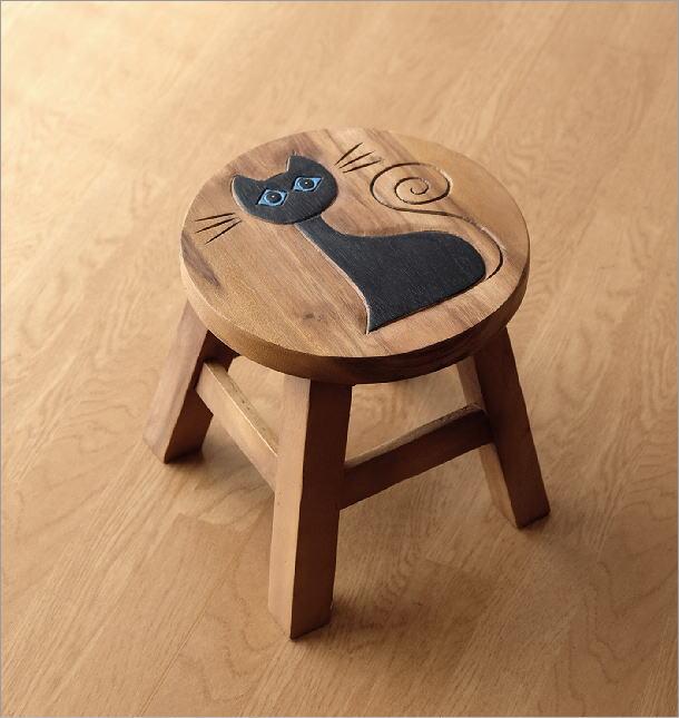 子供椅子 ネコさん(4)