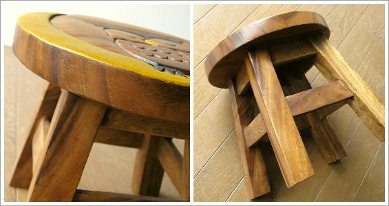 子供椅子 みみずくさん(2)