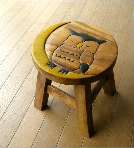 子供椅子 みみずくさん(3)
