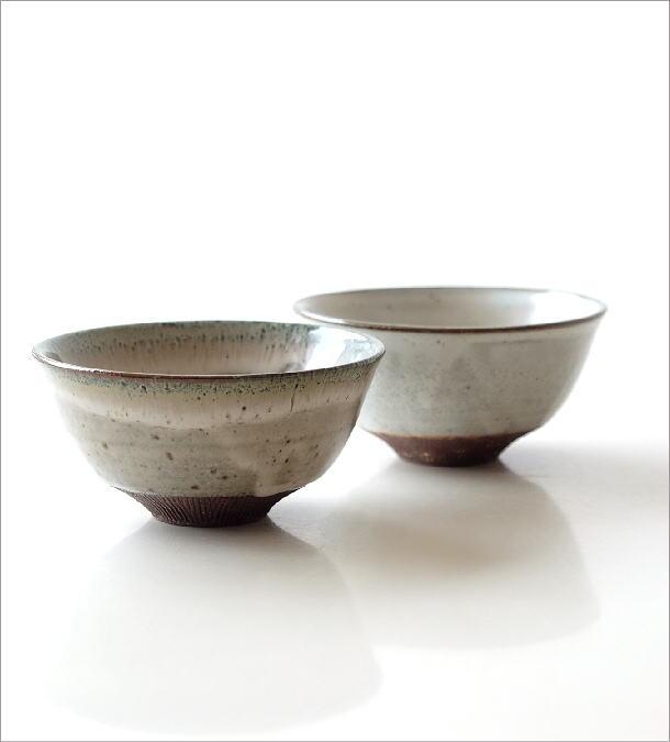 櫛目彫り面取り茶碗 2タイプ(1)