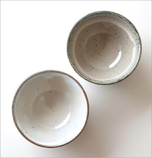 櫛目彫り面取り茶碗 2タイプ(2)
