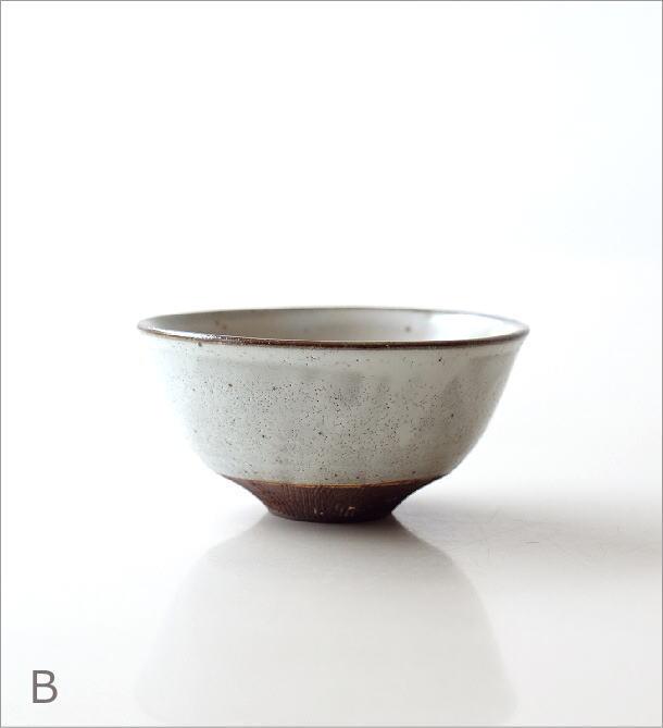 櫛目彫り面取り茶碗 2タイプ(4)