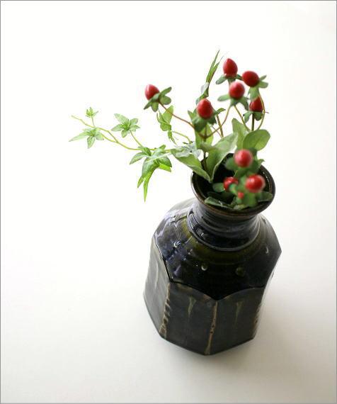 和陶器ベース 織部輪立(1)