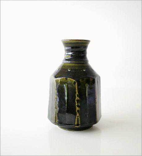 和陶器ベース 織部輪立(4)