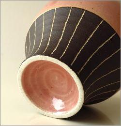 和陶器フリーカップ 桃(5)
