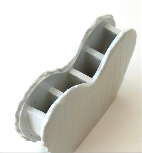 和陶器ベース ホワイトハート(2)