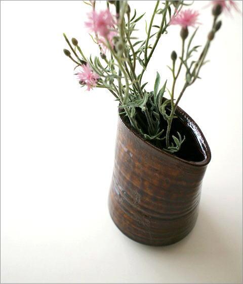 和陶器ベース 古瀬戸唐草(1)