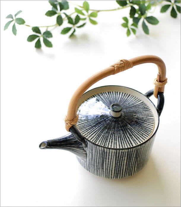 呉須十草 土瓶(1)