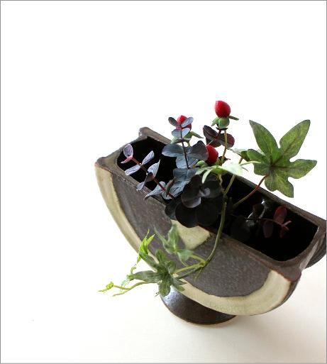 花器 陶器 和陶器ベース 二(1)